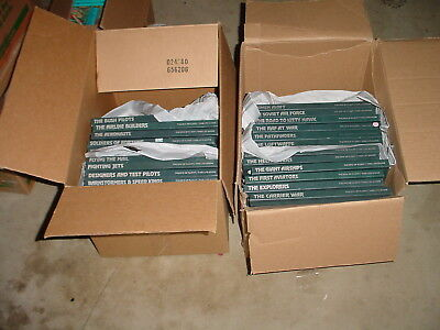 Complete Time Life Epic of Flight Books Lot