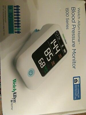 Welch Allyn Home 1500 Series Blood Pressure Monitor with Simple Smartphone Co...