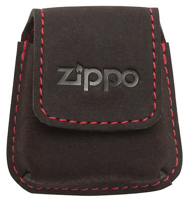 Zippo Leather Lighter Pouch 2005425 NEU+OVP Mocha Mocca