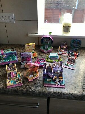 vintage polly pocket. Used condition. Various models.