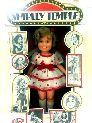 """Vintage Shirley Temple Doll 16"""" Mint Condition in Box"""