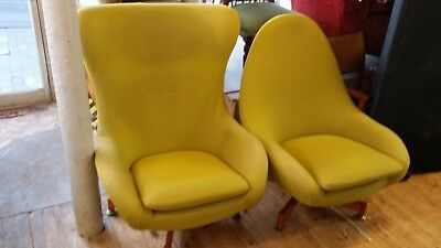 Another fab and funky!! greaves and thomas original swivel armchairs and settee