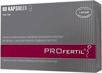Profertil 60 caps. MALE FERTILITY from DRUGSTORE