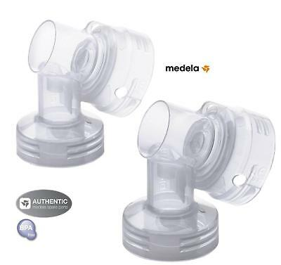 NEW - MEDELA  PERSONALFIT BREAST SHIELD CONNECTOR  #87076 ( 1 pair)