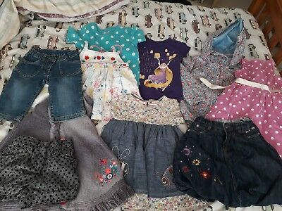 Girl's clothing bundle age 5-6 years (Next, m&s, RJR etc)