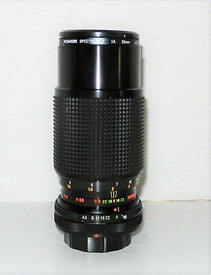 Promaster 80-200mm 1:4.5 SP MC zoom lens F/4.5  Lens For Canon AE-1 FD Mount