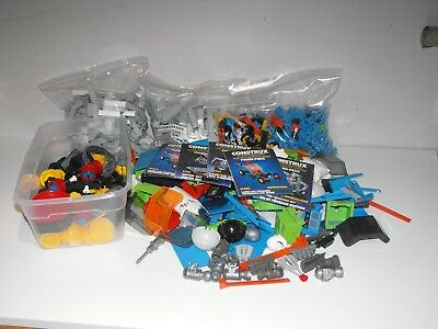 HUGE Lot of  VINTAGE CONSTRUX < , Instuctions  over 1000 pieces
