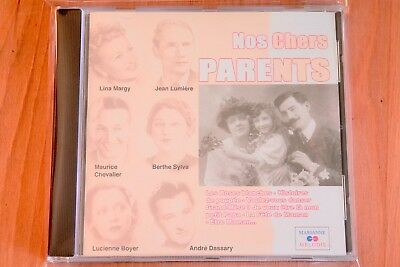 Nos chers parents - Les roses blanches Berceuse Maman Mon petit O mama - CD Neuf