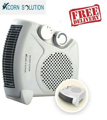 2 X 2000W Portable Silent Electric Fan Heaters Hot Upright New Heater A11