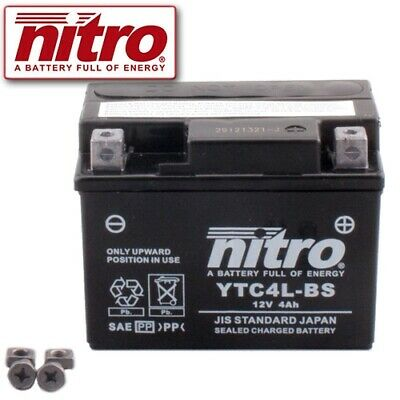 Batterie PGO Galaxy 50  Bj. 1992 Nitro YTC4L-BS GEL