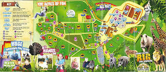 Voucher  Noahs Ark Zoo Farm In Somerset Free Child Ticket - Expires 31/03/2018