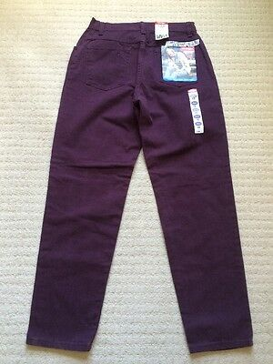 Nwt Wrangler Size 10 Short Colored Jeans Relaxed Hip And Thigh Fitted Waist F-68