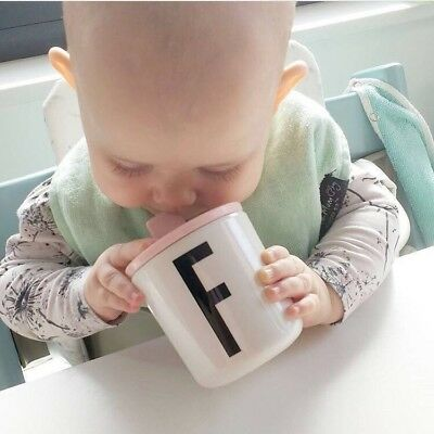 Baby/ Toddler Cup with Custom Initial & Matching Lid