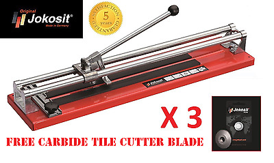 Jokosit Professional Tile Cutter 800mm 80cm 3 Carbide Blades