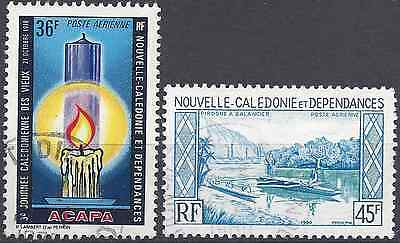 New Caledonia Pa N°188/200 - Obliteration Stamp Has Date