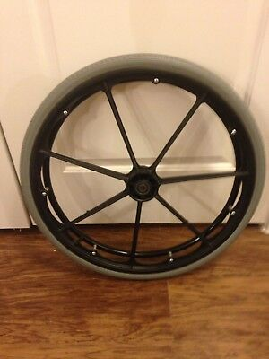 "Wheel & Tire Invacare 9000XL Wheelchair Rear Wheel Replacement Part 24""x1-3/8"""