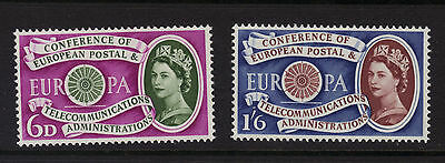 SG621-622 1960 EUROPA  Unmounted Mint