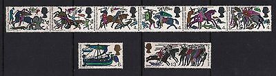 SG705-712 1966 Hastings 8v Unmounted Mint GB