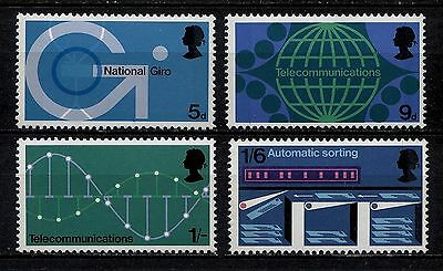 SG808-811 1969 PO TECHNOLOGY Unmounted Mint GB