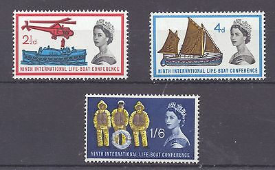 Sg639-641 1963 Lifeboat. Unmounted Mint Gb