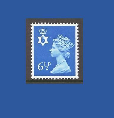 NI21 6½p Greenish blue Northern Ireland Regional Unmounted Mint GB Machin