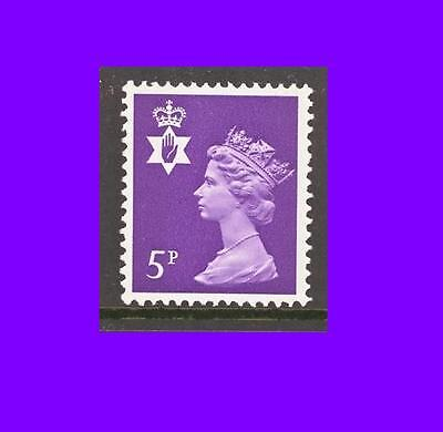 NI18 5p Reddish violet Northern Ireland Regional Unmounted Mint