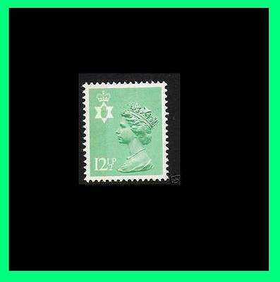 NI36a 12½p Lt Emerald Perf 15x14 Northern Ireland Regional Unmounted Mint
