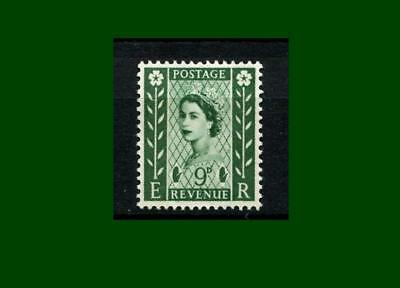NI4 9d Bronze-green Phosphor Northern Ireland Regional Unmounted Mint