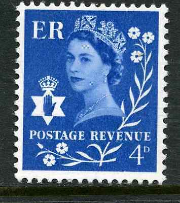 NI7 4d Ultramarine NO WMK PHOSPHOR - NORTHERN IRELAND Regional Unmounted Mint GB