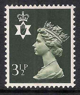 NI16 3½p Olive-grey CENTRE BAND Northern Ireland Regional Unmounted Mint GB
