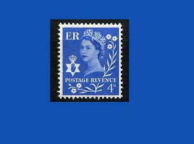 NI2p 4d Ultramarine PHOSPHOR - NORTHERN IRELAND Regional Unmounted Mint GB