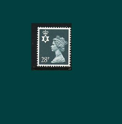 NI63 28p Dp Bluish Grey Northern Ireland Regional Unmounted Mint