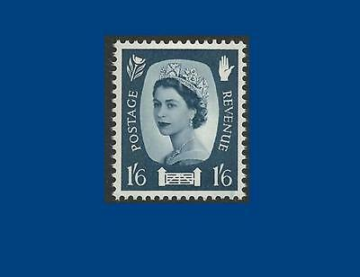 NI11 1/6d Grey-blue NO WATERMARK Northern Ireland Regional Unmounted Mint