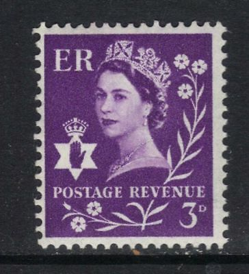 NI1p 3d Deep Lilac Phosphor Northern Ireland Regional Unmounted Mint