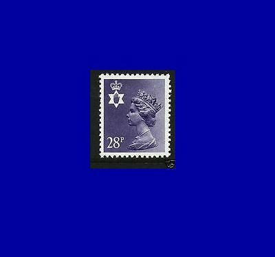 NI62 28p dp violet-blue Northern Ireland Regional Unmounted Mint GB Machin
