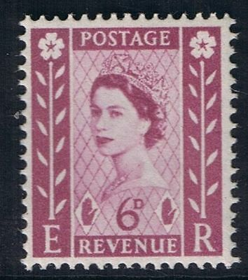 NI3 6d Claret - NORTHERN IRELAND Regional Unmounted Mint GB