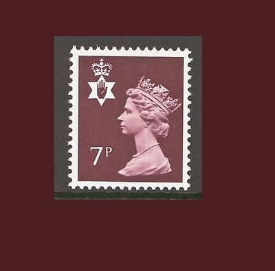 NI22 7p Brown Northern Ireland Regional Unmounted Mint