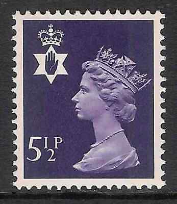 NI19 5½p Violet TWO BANDS Northern Ireland Regional Unmounted Mint GB Machin