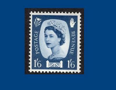 NI6 1/6d Grey-blue PHOSPHOR - NORTHERN IRELAND Regional Unmounted Mint GB