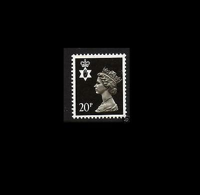 NI51 20p Brownish-black Northern Ireland Regional Unmounted Mint