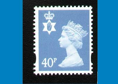 NI84 40p dp Azure PHOTO - NORTHERN IRELAND Regional Unmounted Mint GB Machin