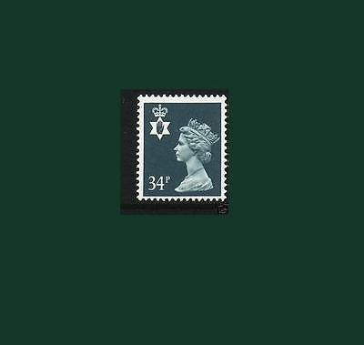 NI66 34p Dp Bluish Grey Northern Ireland Regional Unmounted Mint