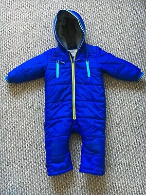M&S Boys Snowsuit 12-18months