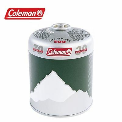 6 x Coleman Value Pack C500 Gas Cartridges Camping Gas Canisters