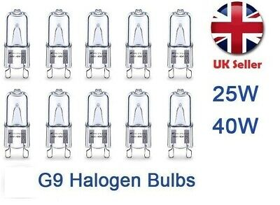 G9 Halogen 25W and 40W Capsule Light Bulbs
