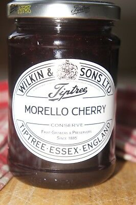 **WILKIN & SONS LTD** Tiptree Morello Cherry Extra Jam 340g Jar