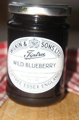 **WILKIN & SONS LTD** Tiptree Wild Blueberry Extra Jam 340g Jar
