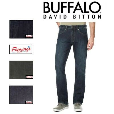 SALE Buffalo David Bitton Driven-X Basic Mens Straight Fit Stretch Classic Jeans