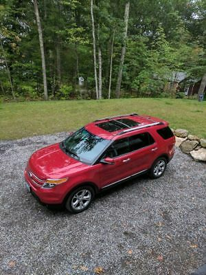 2012 Ford Explorer Limited 2012 Ford Explorer Limited Red Candy Power Leather