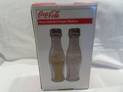 Coca Cola Salt And Pepper Shakers New In Box Old Stock